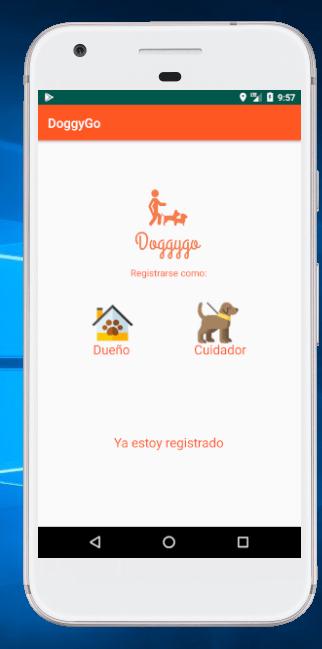 doggygo: paseadores de mascotas registro