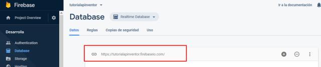 app inventor firebase url copiar