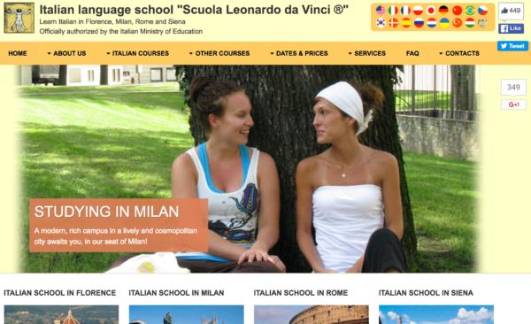 Scuola Leonardo's call to action (lack of)