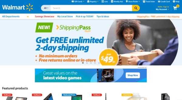 Walmart 2016 screenshot