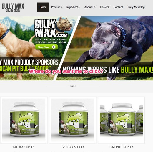 Bully Max Dog Supplements Pitbull Food Dog Vitamins 710 7
