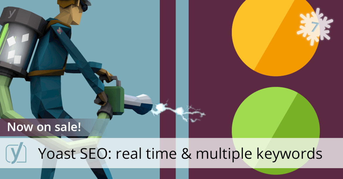 Yoast SEO 3.0 real time content analysis and multiple keywords