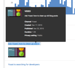 youtube analytics hover realtime example