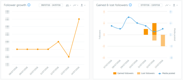 Iconosquare: overview   Instagram Analytics