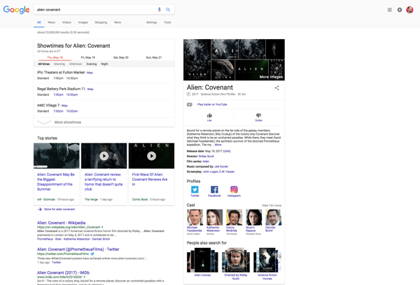 knowledge graph alien