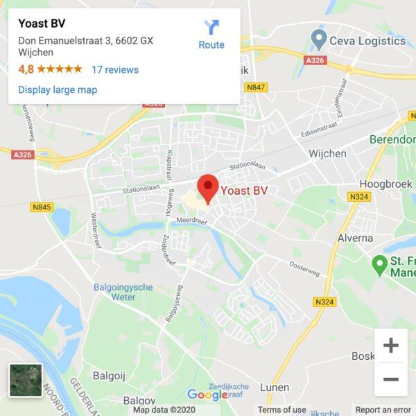 Yoast HQ visible on Google Maps