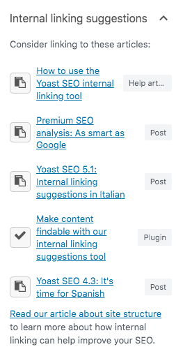 Yoast SEO 14.7: Smarter and faster internal linking suggestions in Premium