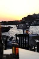 Sunset from Amoudi Bay