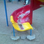 Play equipments in bad condition in Chennai's popular park