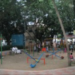 Velachery's well maintained park