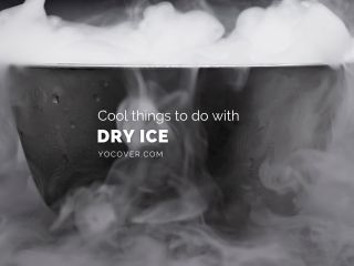 cool things to do with dry ice