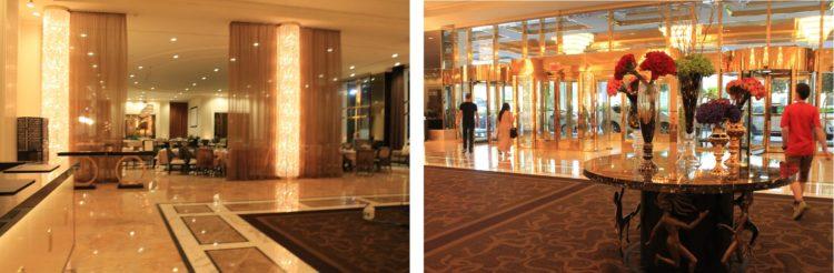 Hall y restaurante del hotel