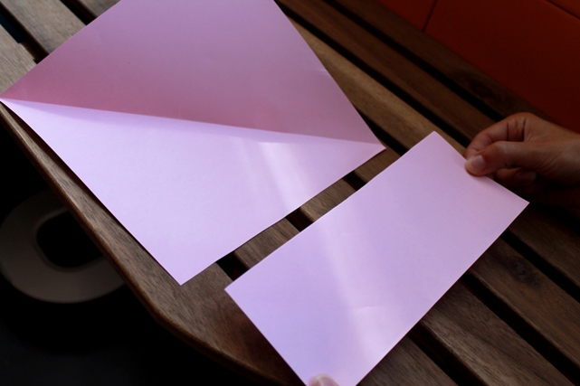 papel cuadrado