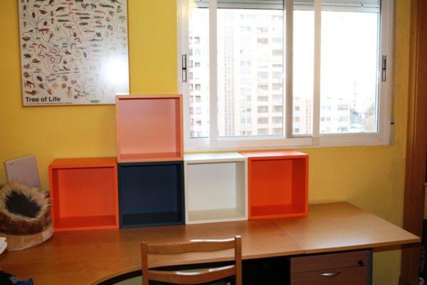 Cubos de Ikea - Cómo mejorar el orden en un escritorio