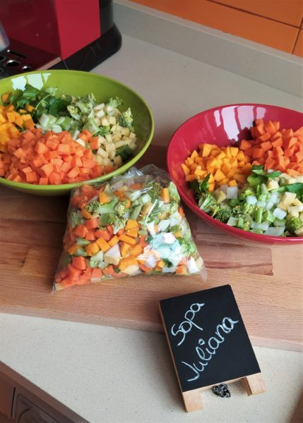 verduras juliana