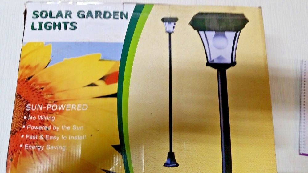 medium resolution of adjustable solar lamp post