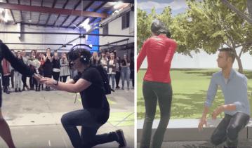 virtual proposal