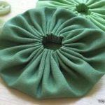 DIY: Flores con tela para adornar una prenda