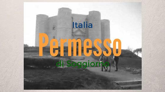 Permiso de residencia en Italia