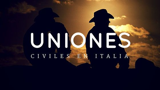 Uniones Civiles en Italia