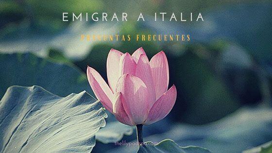 Emigrar a Italia – Preguntas frecuentes
