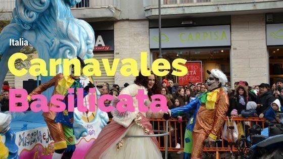 Italia Carnavales Basilicata