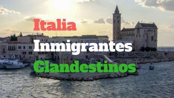 Italia – Inmigrantes irregulares y clandestinos