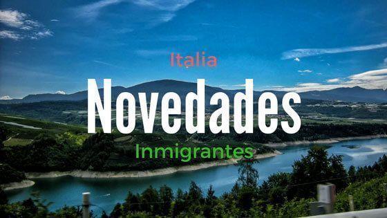 Italia Novedades para Inmigrantes
