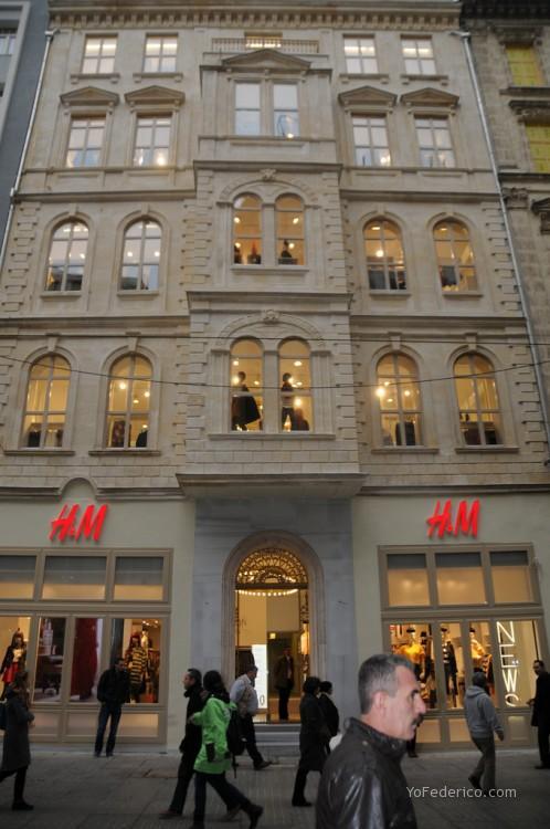 H&M Istiklal Estambul Turquia