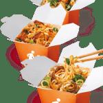 Deliciosa comida asiática al paso y a buen precio.