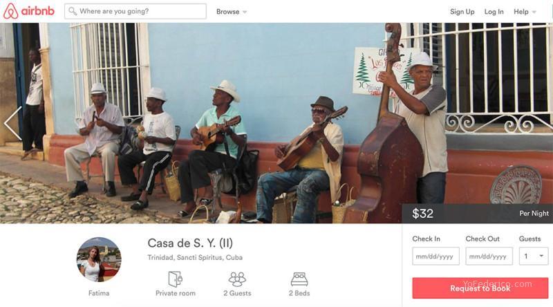 Airbnb ya está en Cuba con más de 1000 hospedajes