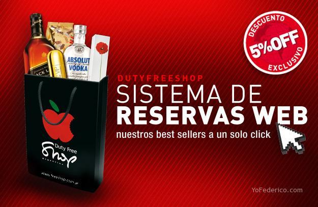 Sistema de Reservas Online del Duty Free Shop Argentina