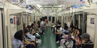 Metro de Tokyo, Japón