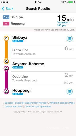 tokyo subway navigation for tourist