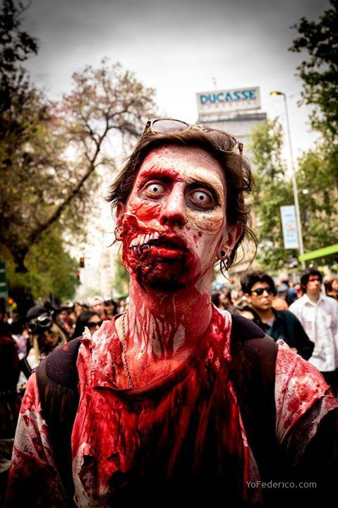 Zombiewalk, Santiago, Chile