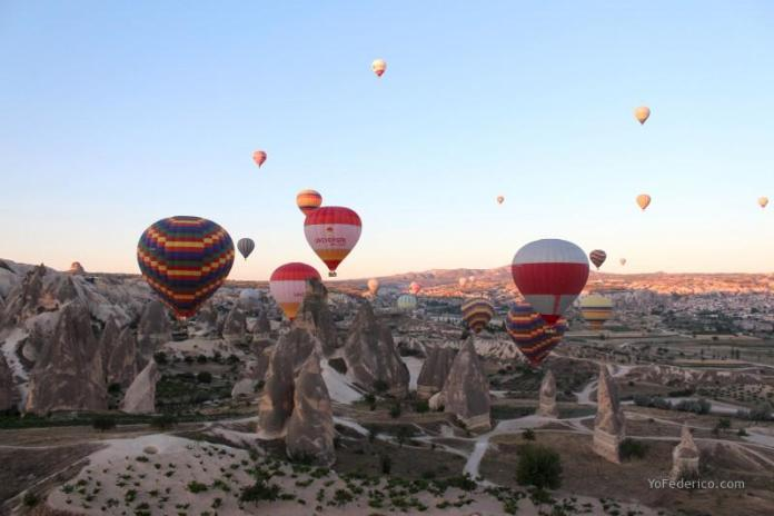 Paseo en Globo en Cappadocia