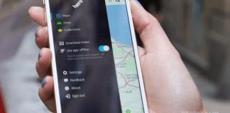 Here Nokia GPS offline app