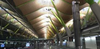 Aeropuerto de Barajas, Madrid, España