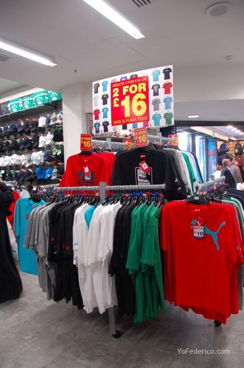 Lillywhites y SportsDirect, dos tiendas de ropa en Londres para no dejar de ir 4