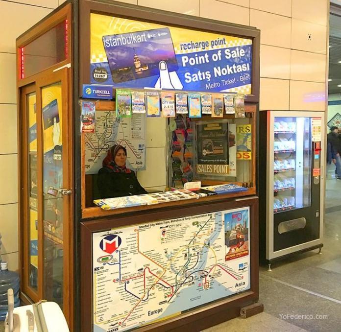Cómo ir en Metro del aeropuerto de Estambul a la ciudad 3