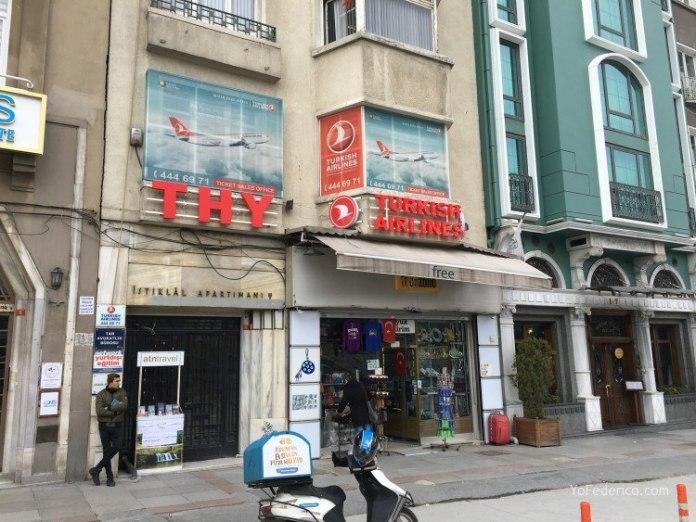 Las oficinas de Turkish Airlines en Taksim, Estambul 1