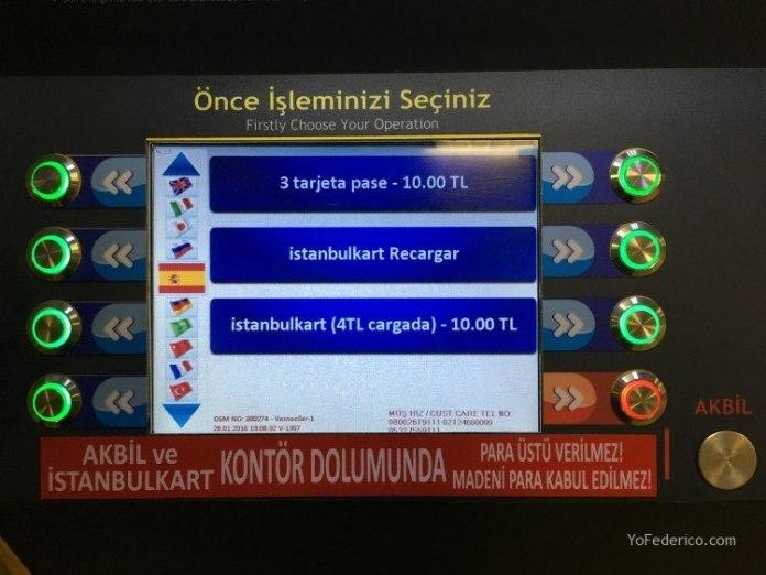 Cómo adquirir y recargar la Istanbul Kart para movernos en Estambul 3