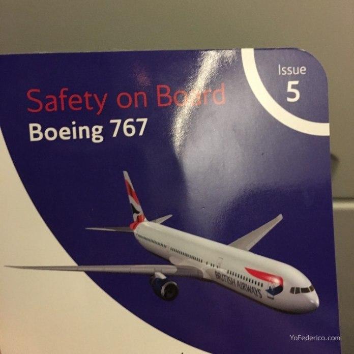 Vuelo de Estambul a Londres en British Airways 5