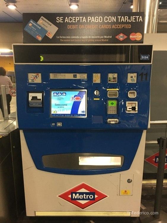 Cómo ir en Metro desde el Aeropuerto de Barajas a Madrid 3