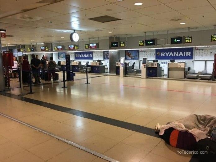 Vuelo de Madrid a Berlin en RyanAir 2