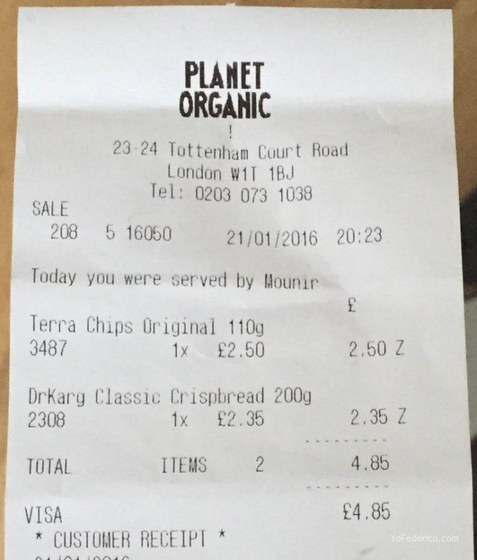 Planet Organic de Londres, todo orgánico! 6