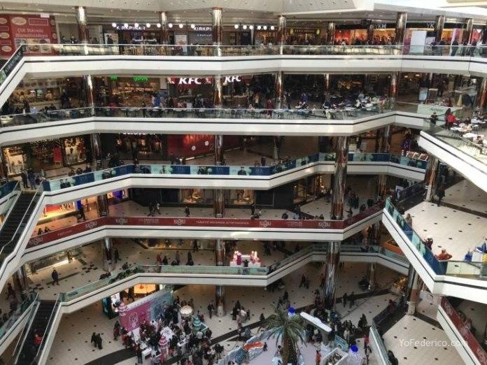 Istanbul Cevahir, un shopping enorme en Estambul 2