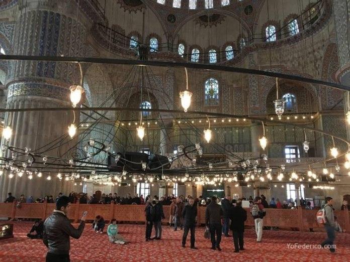La Mezquita Azul de Estambul 11