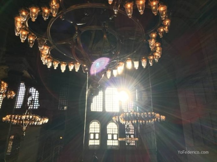 La mezquita Santa Sofía de Estambul 12