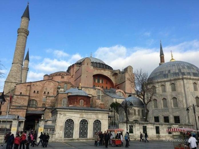 La mezquita Santa Sofía de Estambul 14